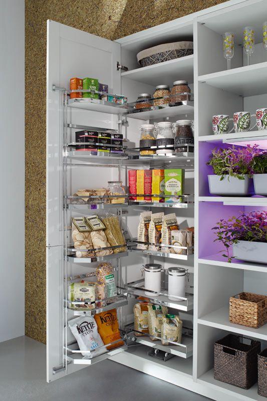 Funktionsschränke - Ballerina-Küchen: Finden Sie Ihre Traumküche | {Vorratsschrank mit auszügen 4}