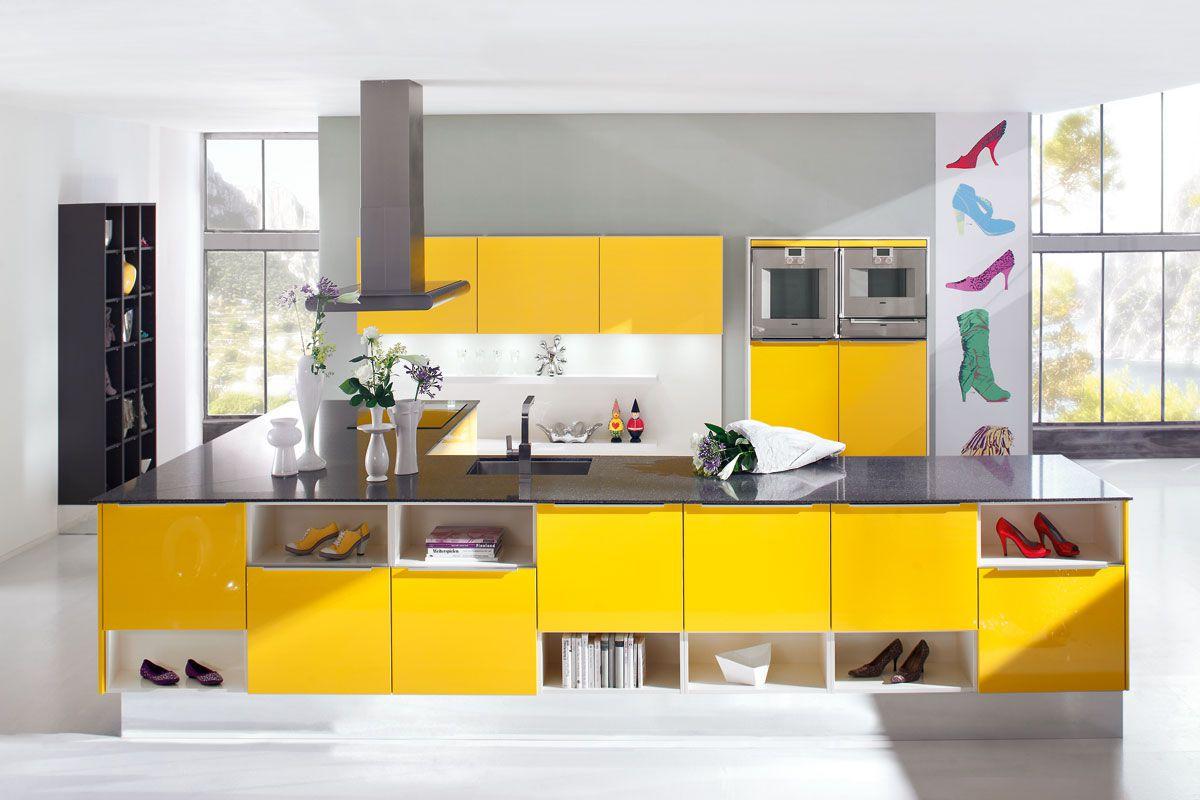 Schon Unsere Modernen Küchen. OPAL H 5699 Gelb