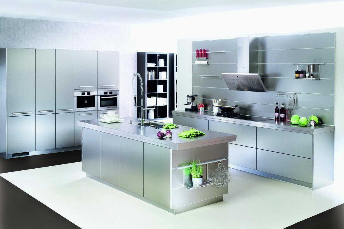 RESOPAL INOX 4054 - Ballerina-Küchen: Finden Sie Ihre Traumküche